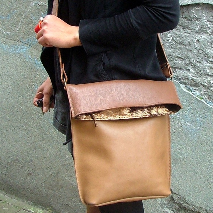 Two tones Browns bag