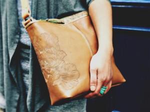 Tattoo cross body bag